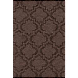 Artistic Weavers Carpette d'intérieur, 5 pi x 7 pi 6 po, style transitionnel, rectangulaire, brun Central Park Kate
