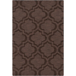 Artistic Weavers Carpette d'intérieur, 9 pi x 10 pi, style transitionnel, rectangulaire, brun Central Park Kate