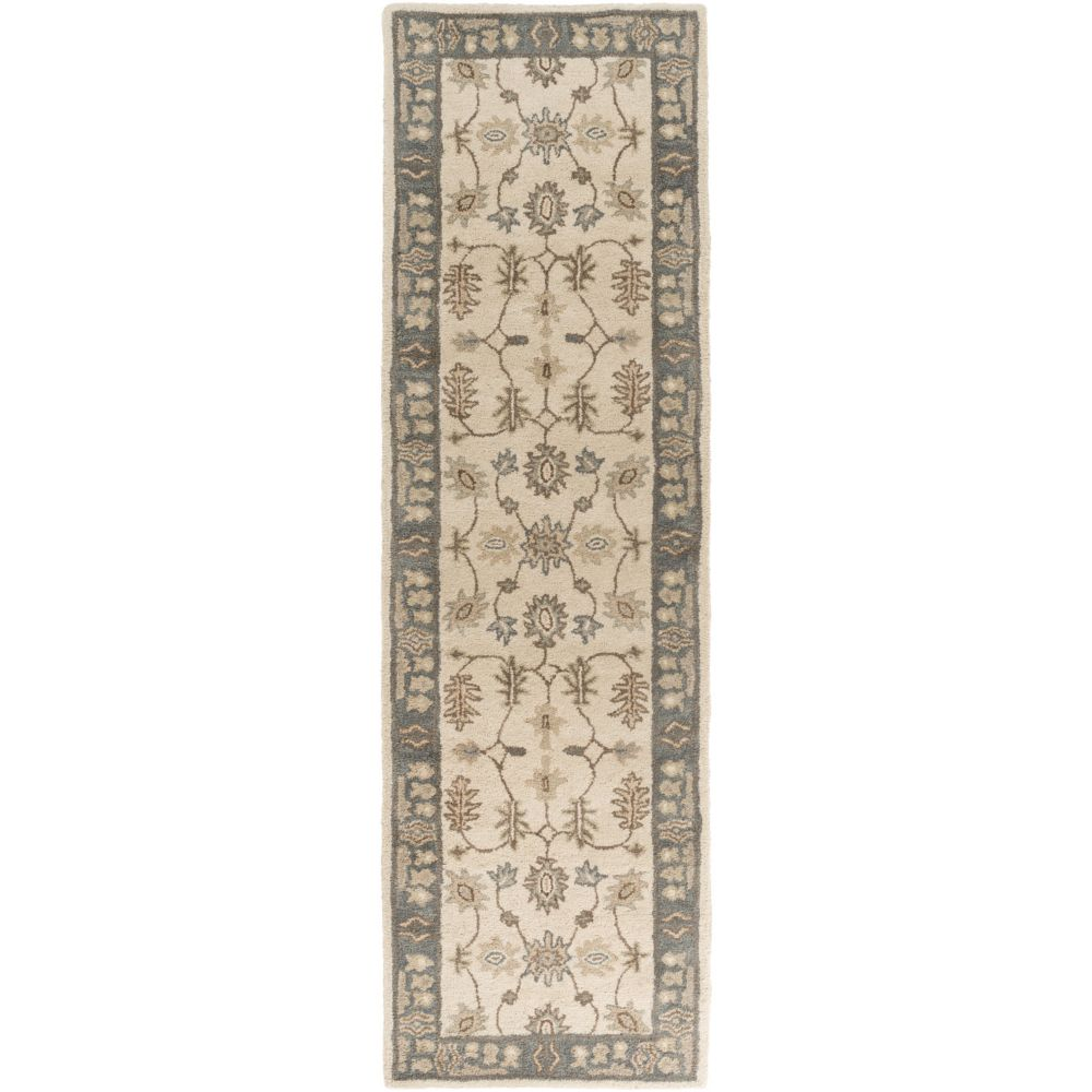 Artistic Weavers Middleton Willow Grey 2 ft. 3-inch x 8 ft. Indoor Traditional Runner
