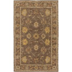 Artistic Weavers Middleton Lily Brown 9 ft. x 13 ft. Indoor Traditional Rectangular Area Rug