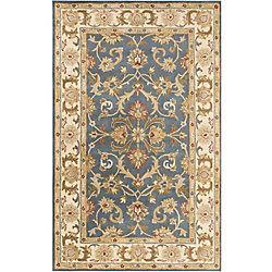 Artistic Weavers Carpette d'intérieur, 8 pi x 11 pi, style traditionnel, rectangulaire, bleu Oxford Aria