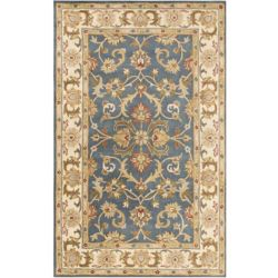 Artistic Weavers Oxford Aria Blue 8 ft. x 11 ft. Indoor Traditional Rectangular Area Rug