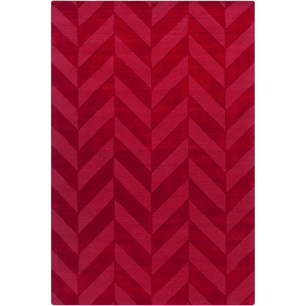 Artistic Weavers Central Park Carrie Red 2 ft. x 3 ft. Indoor Transitional Rectangular Accent Rug