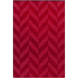 Artistic Weavers Central Park Carrie Red 6 ft. x 9 ft. Indoor Transitional Rectangular Area Rug