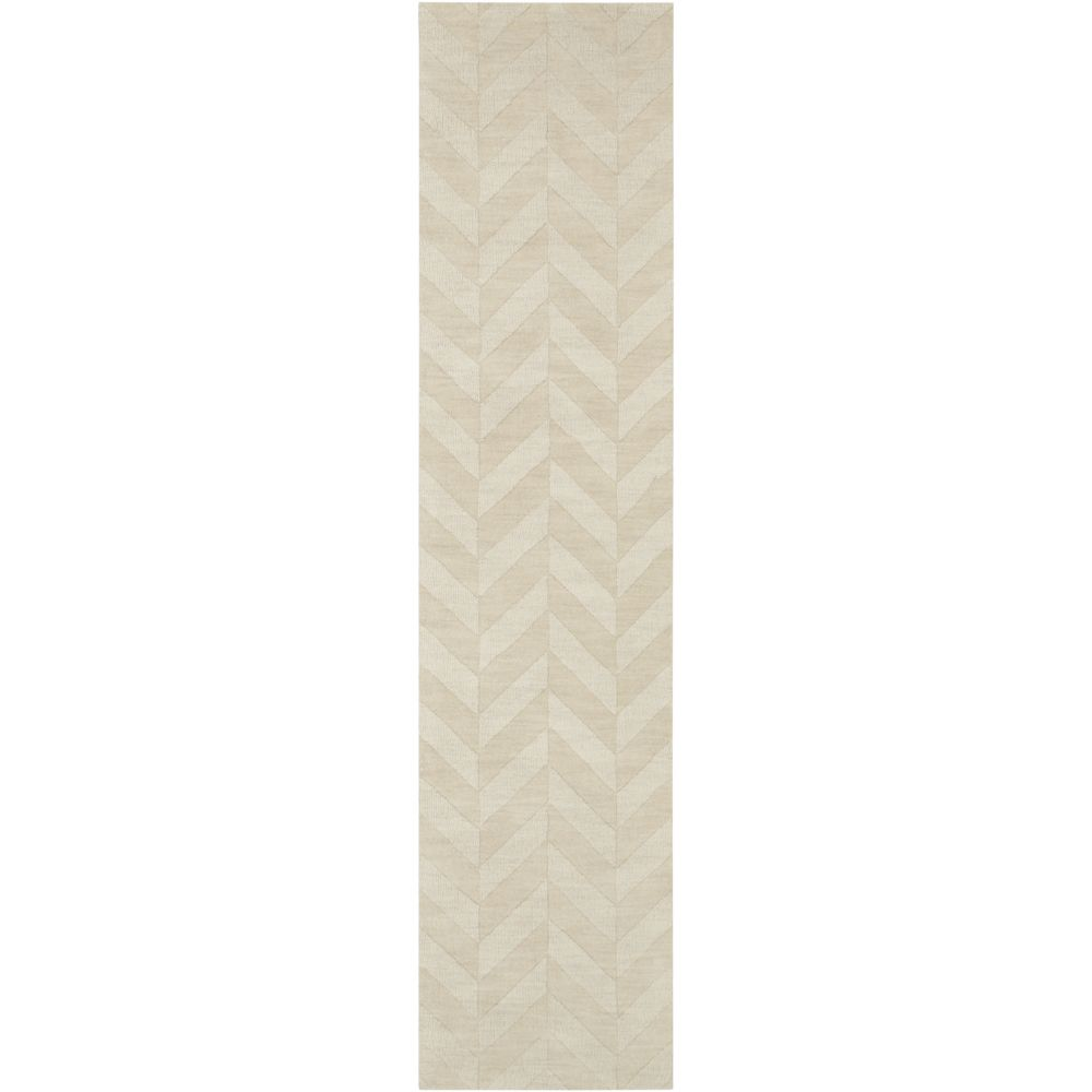Artistic Weavers Central Park Carrie Off-White 2 ft. 3-inch x 8 ft. Indoor Transitional Runner