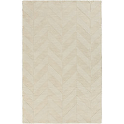 Artistic Weavers Central Park Carrie Off-White 5 ft. x 7 ft. 6-inch Indoor Transitional Rectangular Area Rug