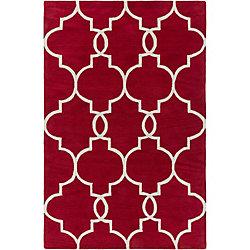 Artistic Weavers Holden Mattie Red 5 ft. x 7 ft. 6-inch Indoor Contemporary Rectangular Mat