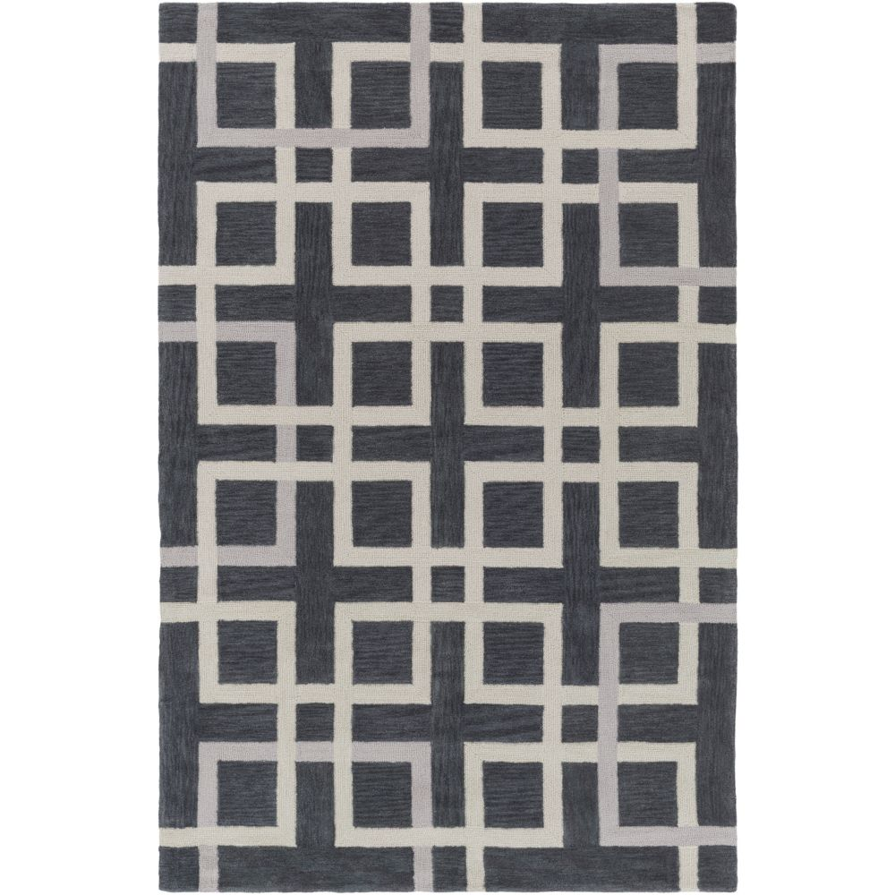 Artistic Weavers Holden Mila Grey 5 ft. x 7 ft. 6-inch Indoor Contemporary Rectangular Area Rug