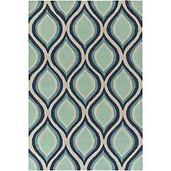 Artistic Weavers Holden Lucy Blue 5 ft. x 7 ft. 6-inch Indoor Contemporary Rectangular Area Rug