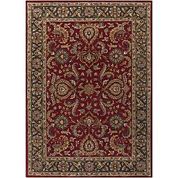 Artistic Weavers Carpette d'intérieur, 5 pi x 8 pi, style traditionnel, rectangulaire, rouge Middleton Georgia