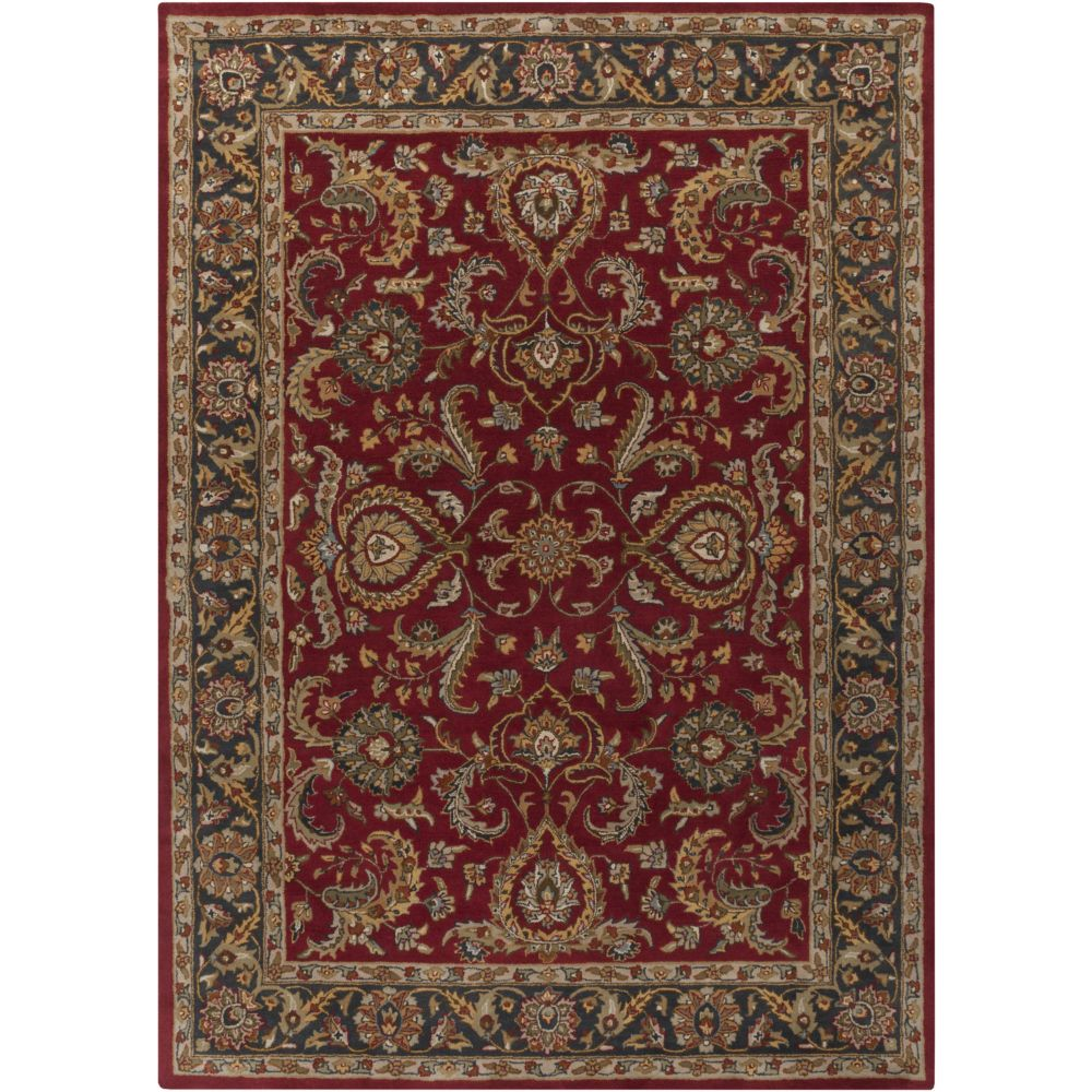 Artistic Weavers Middleton Georgia Red 8 ft. x 11 ft. Indoor Traditional Rectangular Area Rug