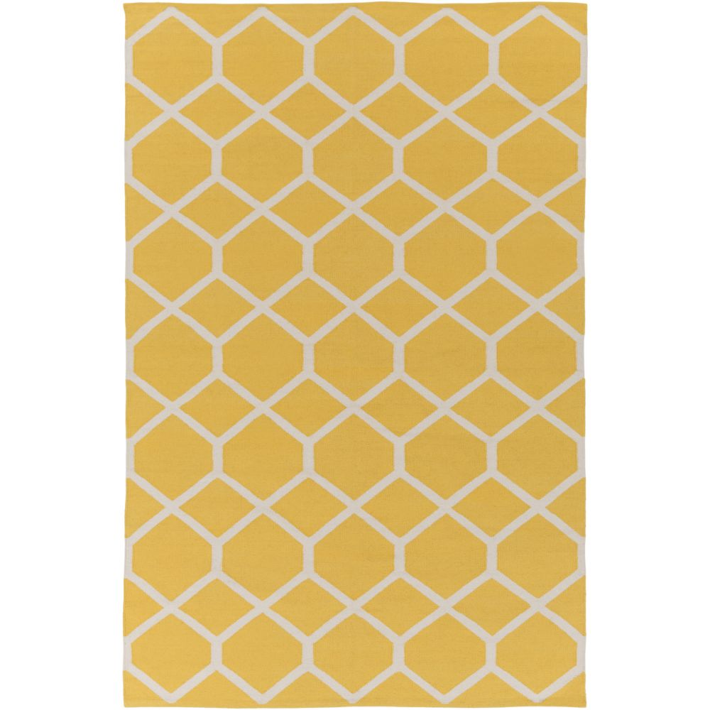 Vogue Elizabeth 8Feet  x 10Feet  Yellow/Ivory