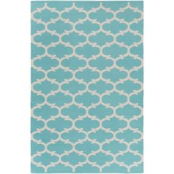 Artistic Weavers Vogue Lola Blue 9 ft. x 12 ft. Indoor Contemporary Rectangular Area Rug