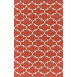 Artistic Weavers Vogue Lola Orange 9 ft. x 12 ft. Indoor Contemporary Rectangular Area Rug