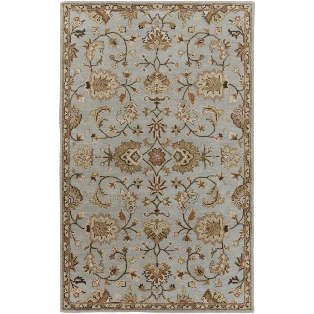 Artistic Weavers Middleton Mallie Blue 3 ft. x 5 ft. Indoor Traditional Rectangular Area Rug
