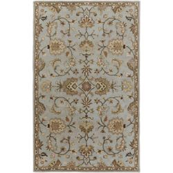 Artistic Weavers Middleton Mallie Blue 5 ft. x 8 ft. Indoor Traditional Rectangular Area Rug