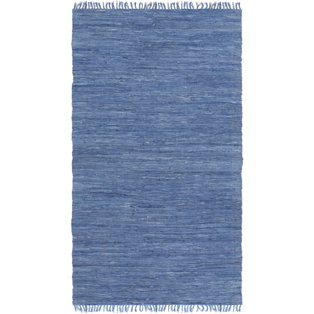 Artistic Weavers Easy Home Delaney Blue 3 ft. 6-inch x 5 ft. 6-inch Indoor Transitional Rectangular Area Rug