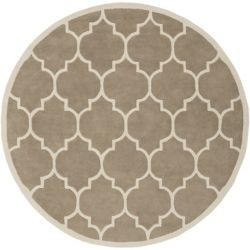 Artistic Weavers Transit Piper Beige Tan 3 ft. 6-inch x 3 ft. 6-inch Indoor Contemporary Round Area Rug