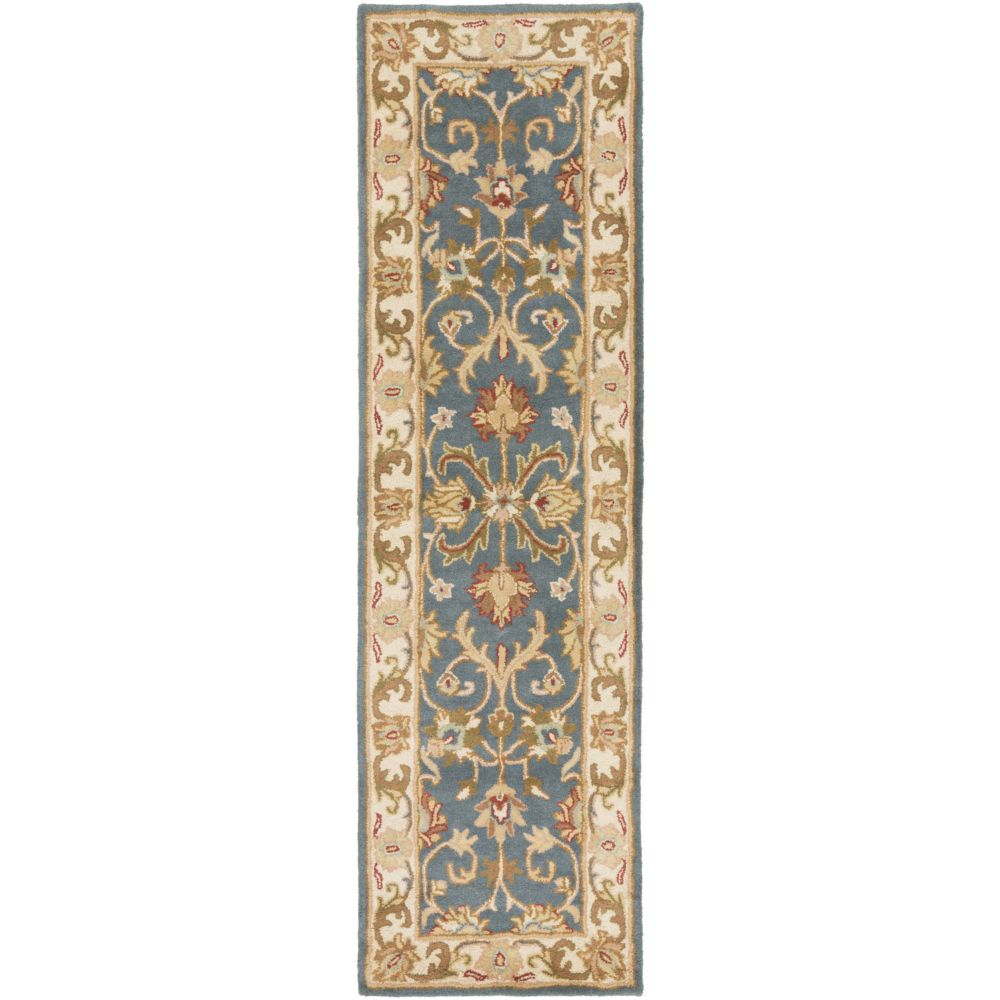 Artistic Weavers Oxford Aria Blue 2 ft. 3-inch x 10 ft. Indoor Traditional Runner