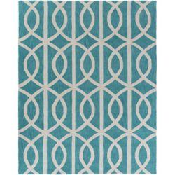 Artistic Weavers Holden Zoe Blue 7 ft. 6-inch x 9 ft. 6-inch Indoor Contemporary Rectangular Area Rug
