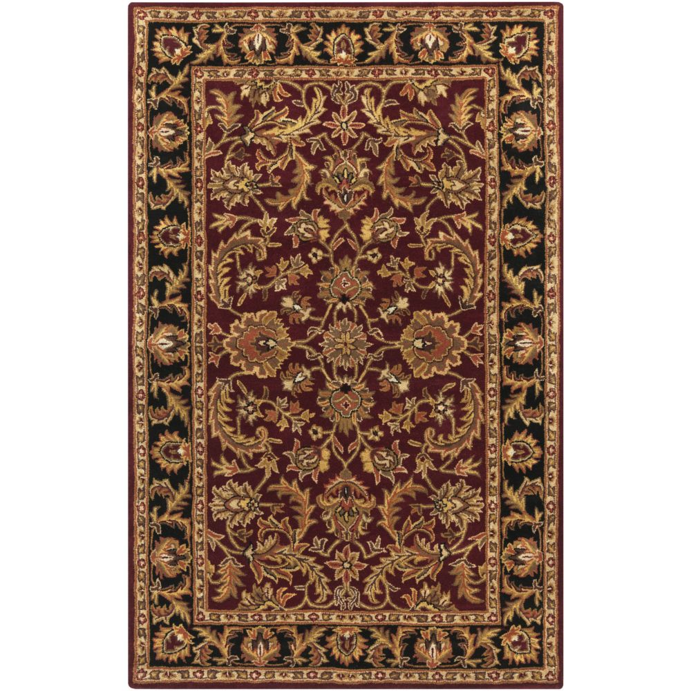 Artistic Weavers Middleton Virginia Red 5 ft. x 8 ft. Indoor Traditional Rectangular Area Rug