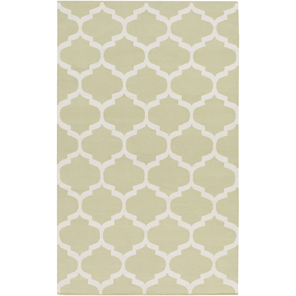 Vogue Everly Off-White 4 ft. x 6 ft. Indoor Contemporary Rectangular Area Rug