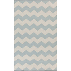 Artistic Weavers Vogue Collins Blue 9 ft. x 12 ft. Indoor Contemporary Rectangular Area Rug