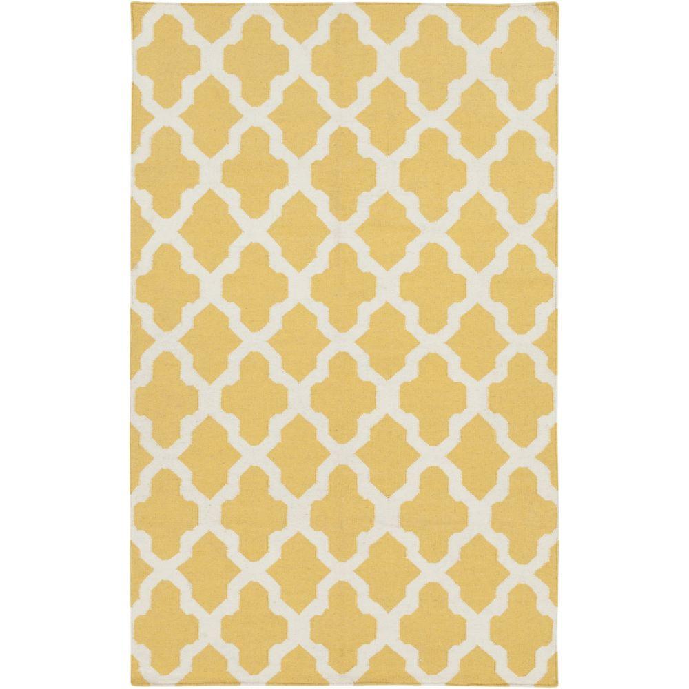 York Olivia 2Feet  x 3Feet  Yellow/White