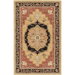 Artistic Weavers Middleton Mia Orange 5 ft. x 8 ft. Indoor Traditional Rectangular Area Rug