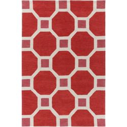 Artistic Weavers Holden Lennon Pink 5 ft. x 7 ft. 6-inch Indoor Contemporary Rectangular Area Rug