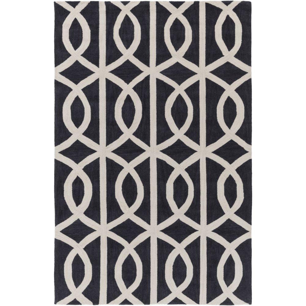 Artistic Weavers Holden Zoe Black 5 ft. x 7 ft. 6-inch Indoor Contemporary Rectangular Area Rug