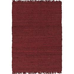Artistic Weavers Carpette d'intérieur, 9 pi x 10 pi, style contemporain, rectangulaire, rouge Tropica Harper