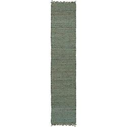 Artistic Weavers Tapis de passage d'intérieur, 2 pi 3 po x 8 pi, style transitionnel, vert Tropica Harper