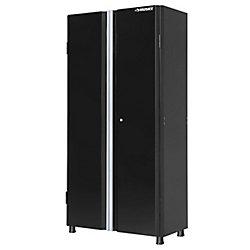 HUSKY 36-inch Tall 2-Door Garage/Workshop Cabinet in Black