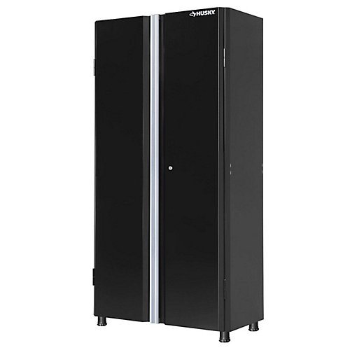 36-inch Tall 2-Door Garage/Workshop Cabinet in Black