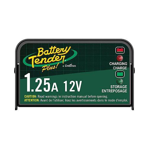 Battery Tender Plus 12V 1.25Amp Battery Charger