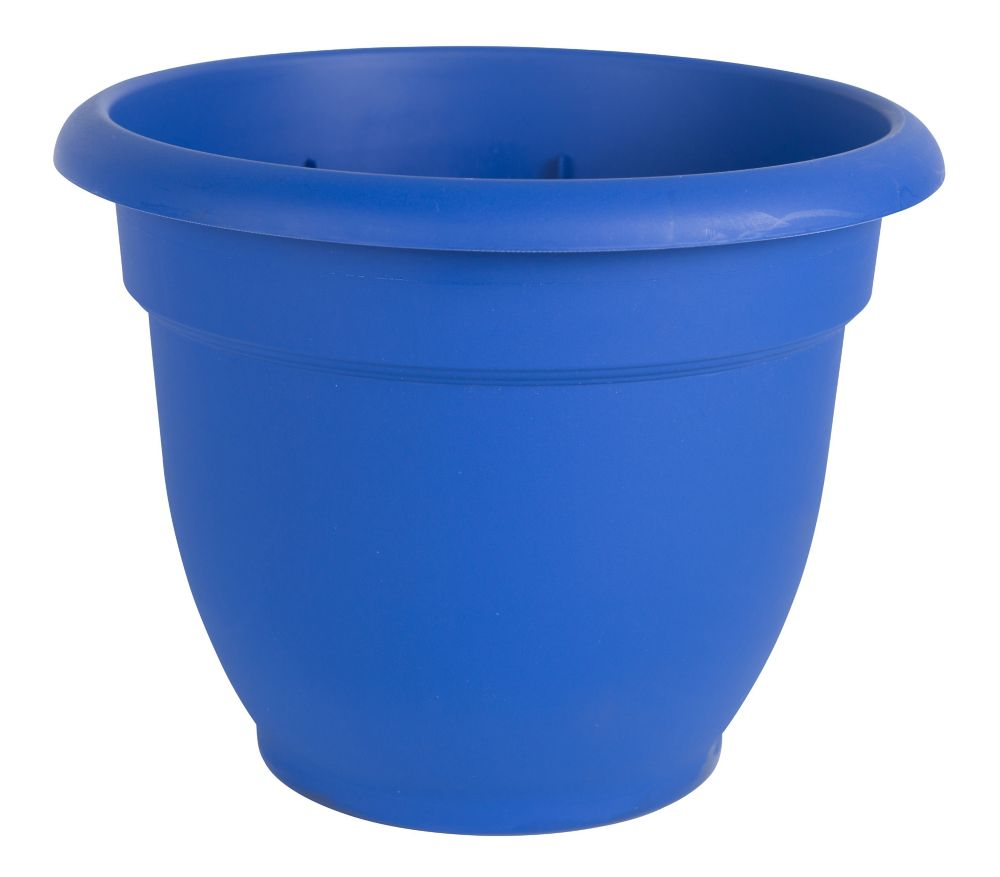 12 Inch Ariana Pot  Blue