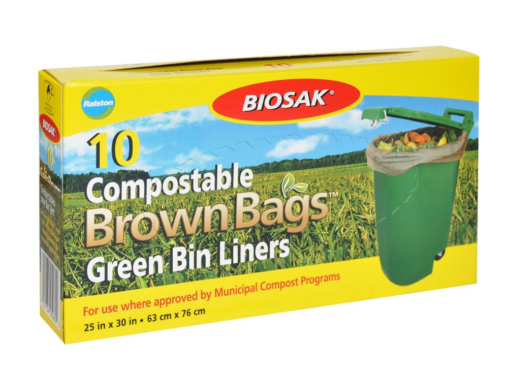 Compostable Green Bin
