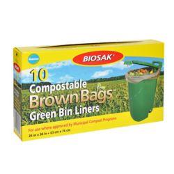Biosak Compostable Green Bin