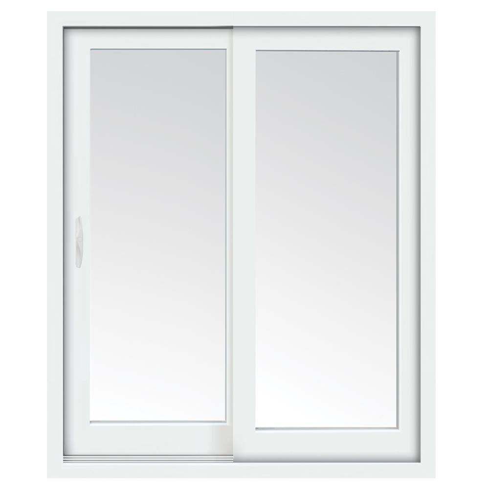 72 inch x 80 inch Clear LowE Argon Prefinished White Left-Hand Vinyl Sliding Patio  sc 1 st  The Home Depot Canada & Patio Doors | The Home Depot Canada
