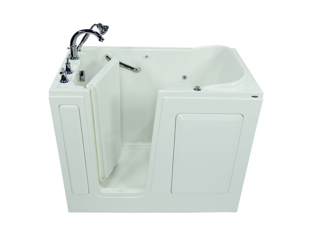 American Standard Gelcoat Whirlpool Walk In Bath With Quick Drain The Home