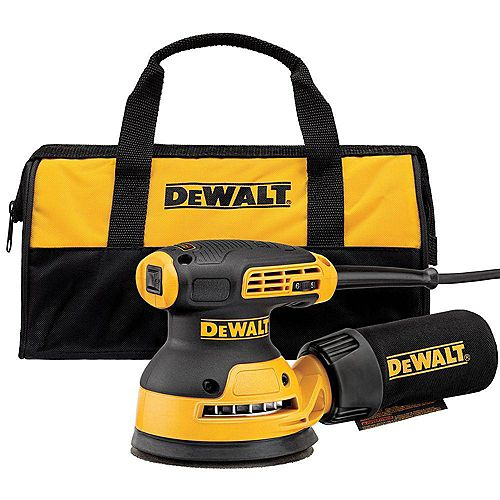 DEWALT 3 Amp Corded 5-inch Variable Speed Random Orbital Sander