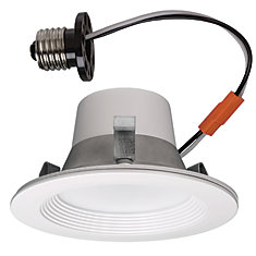 Matte White Recessed Retrofit Smart Led Downlight - 4 Inch - ENERGY STAR®