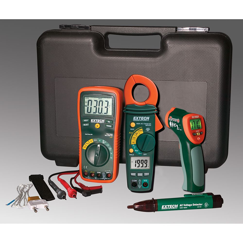 Extech Instruments Industrial Troubleshooting Kit With IR