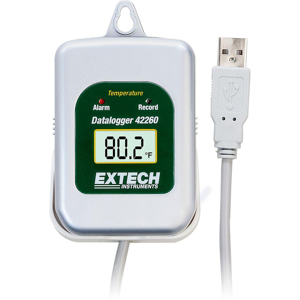 Kit d'enregistreur de données de température avec interface PC