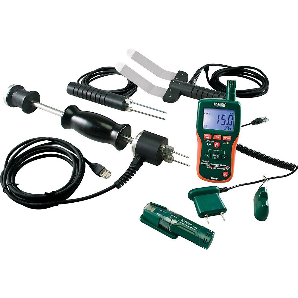 Extech Instruments Water Restoration Contractor Kit