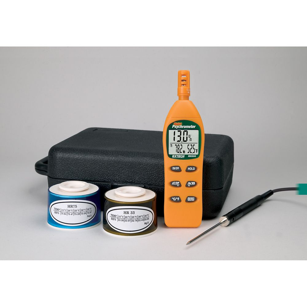 Hydro-Thermometer Psychrometer Kit