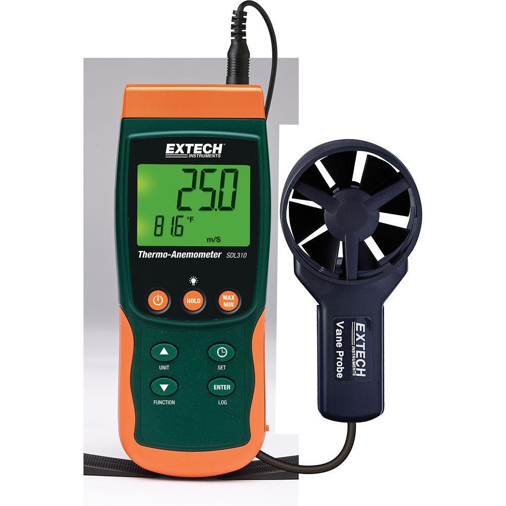 Thermo-anémomètre/Enregistreur de données