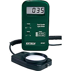 Extech Instruments Pocket-Size Foot Candle Light Meter