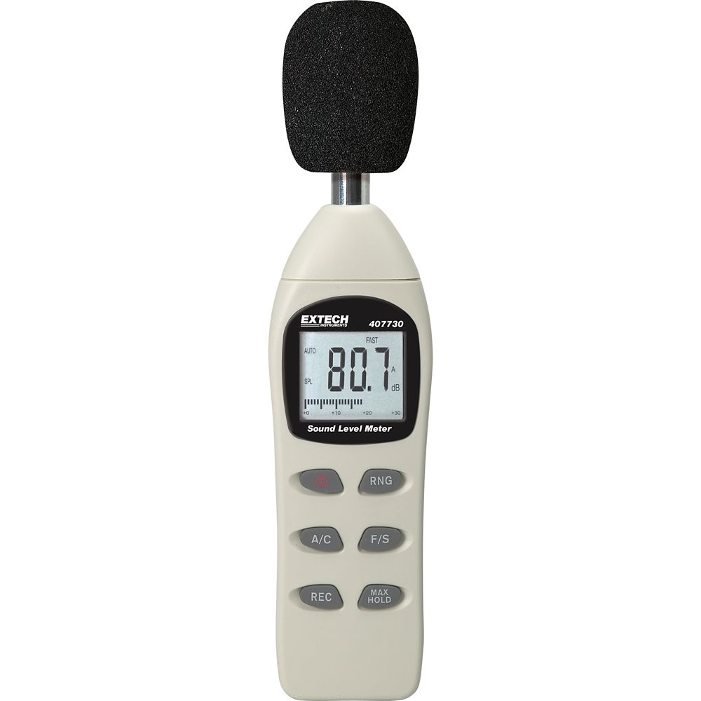 extech instruments digital sound level meter the home. Black Bedroom Furniture Sets. Home Design Ideas